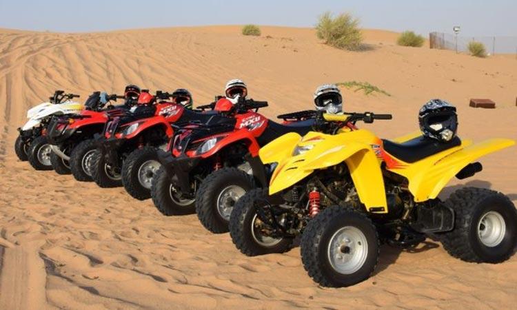 Quad Biking Tour Abu Dhabi