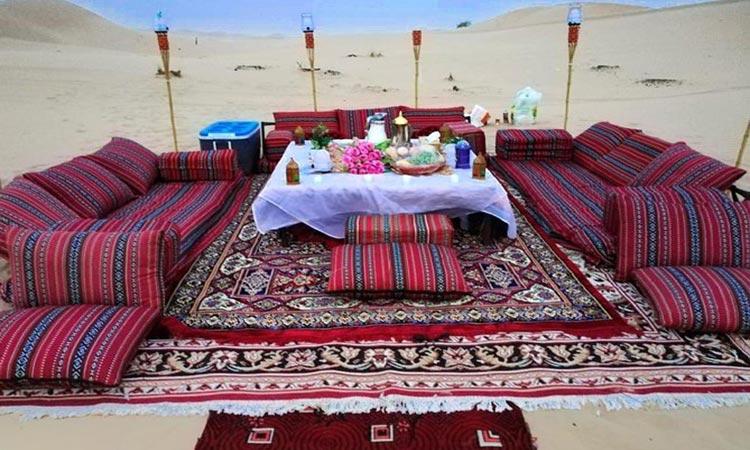 Romantic Dune Dinner Abu Dhabi